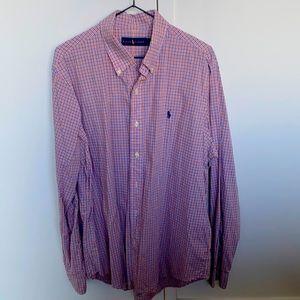 Men's Poli Ralph Lauren Button up dress shirt